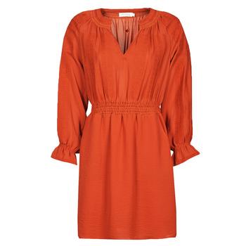 vaatteet Naiset Lyhyt mekko See U Soon 21122109 Punainen