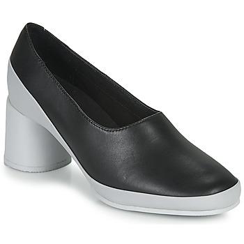 kengät Naiset Korkokengät Camper UPRIGHT Musta / Valkoinen