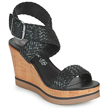 kengät Naiset Sandaalit ja avokkaat Chattawak JANE Musta