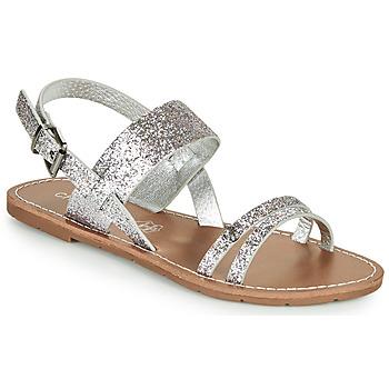 kengät Naiset Sandaalit ja avokkaat Chattawak MONIA Hopea