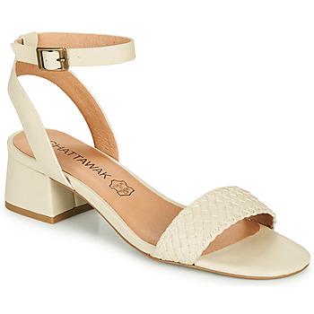 kengät Naiset Sandaalit ja avokkaat Chattawak MUSCADE Creme