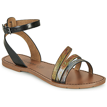kengät Naiset Sandaalit ja avokkaat Chattawak PAGO Musta / Monivärinen