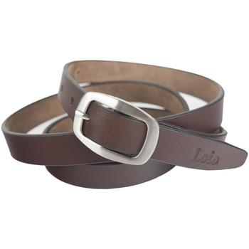 Asusteet / tarvikkeet Vyöt Lois Unisex Leather Ruskea