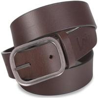 Asusteet / tarvikkeet Miehet Vyöt Lois Classic Leather Ruskea