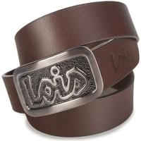 Asusteet / tarvikkeet Miehet Vyöt Lois Vanguard Leather Ruskea