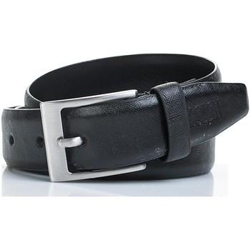 Asusteet / tarvikkeet Vyöt Jaslen Snake Leather Musta