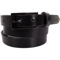 Asusteet / tarvikkeet Vyöt Jaslen Unisex Leather Musta