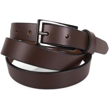Asusteet / tarvikkeet Vyöt Jaslen Unisex Leather Ruskea