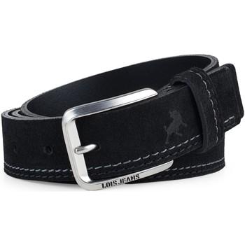 Asusteet / tarvikkeet Miehet Vyöt Lois Casual Leather Musta