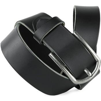Asusteet / tarvikkeet Vyöt Jaslen Hebijon Leather Musta