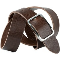 Asusteet / tarvikkeet Vyöt Jaslen Pin Leather Ruskea