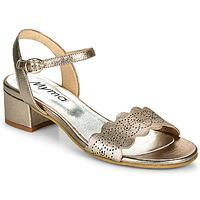 kengät Naiset Sandaalit ja avokkaat Myma POULISSADE Kulta