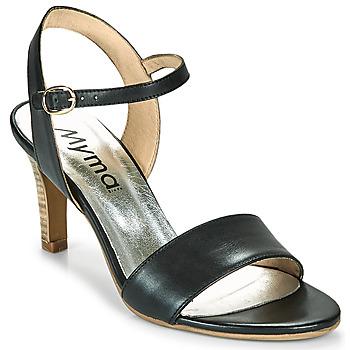 kengät Naiset Sandaalit ja avokkaat Myma POLIDOME Musta