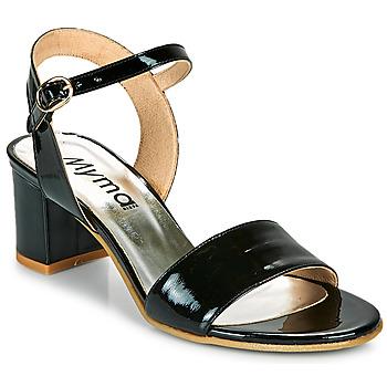 kengät Naiset Sandaalit ja avokkaat Myma POLIDAME Musta
