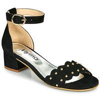 kengät Naiset Sandaalit ja avokkaat Myma POLIVAR Musta
