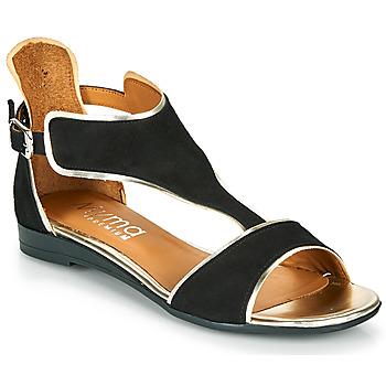 kengät Naiset Sandaalit ja avokkaat Myma POLIBO Musta