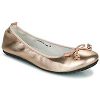 kengät Naiset Balleriinat Mac Douglas ELIANE Vaaleanpunainen / Kulta