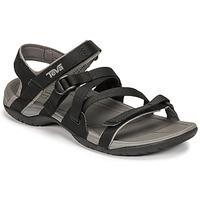 kengät Naiset Sandaalit ja avokkaat Teva ASCONA SPORT WEB Musta