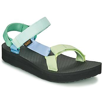 kengät Naiset Sandaalit ja avokkaat Teva MIDFORM UNIVERSAL Vihreä