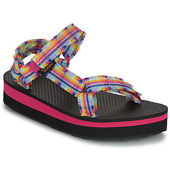 kengät Tytöt Sandaalit ja avokkaat Teva C MIDFORM FRAY Vaaleanpunainen / Monivärinen