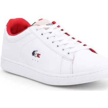 kengät Miehet Matalavartiset tennarit Lacoste Carnaby Evo 317 3 SPM 7-34SPM0003042 white