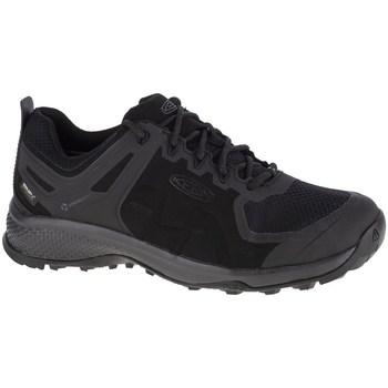 kengät Miehet Juoksukengät / Trail-kengät Keen Explore WP Mustat