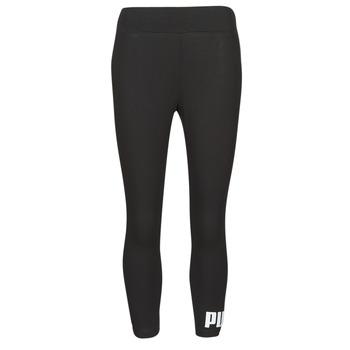 vaatteet Naiset Legginsit Puma ESS 3/4 LOGO LEGGING Musta
