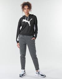 vaatteet Naiset Verryttelyhousut Puma Evostripe Pants Harmaa / Musta