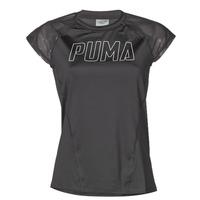 vaatteet Naiset Lyhythihainen t-paita Puma WMN TRAINING TEE F Musta