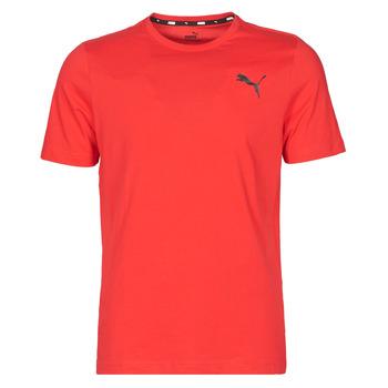 vaatteet Miehet Lyhythihainen t-paita Puma ESS TEE Punainen