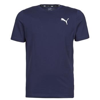 vaatteet Miehet Lyhythihainen t-paita Puma ESS TEE Laivastonsininen