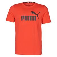 vaatteet Miehet Lyhythihainen t-paita Puma ESSENTIAL TEE Punainen