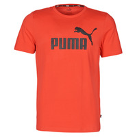 vaatteet Miehet Lyhythihainen t-paita Puma ESSENTIAL TEE Red