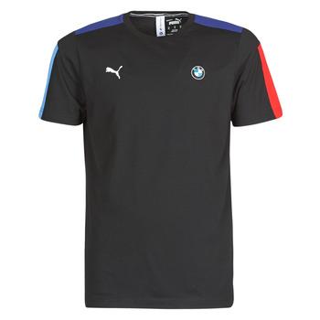 vaatteet Miehet Lyhythihainen t-paita Puma BMW MMS T7 Tee Musta