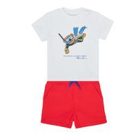 vaatteet Pojat Kokonaisuus Polo Ralph Lauren SOULA Monivärinen