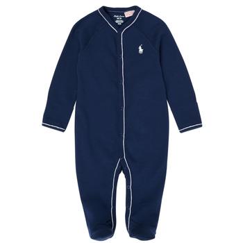 vaatteet Pojat pyjamat / yöpaidat Polo Ralph Lauren LOLLA Laivastonsininen