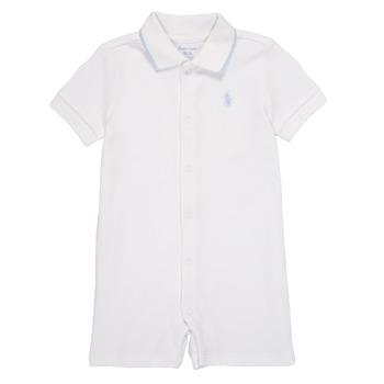 vaatteet Pojat Jumpsuits / Haalarit Polo Ralph Lauren TONNY Valkoinen