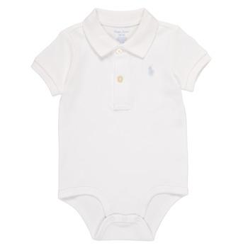 vaatteet Pojat pyjamat / yöpaidat Polo Ralph Lauren NOUVEL Valkoinen