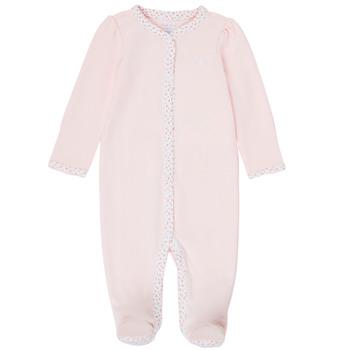 vaatteet Tytöt pyjamat / yöpaidat Polo Ralph Lauren PAULA Vaaleanpunainen