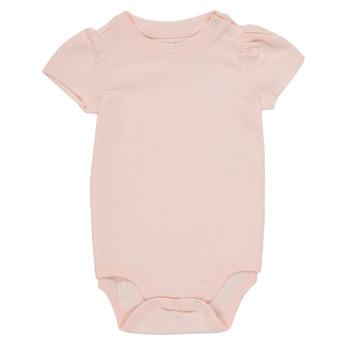 vaatteet Tytöt pyjamat / yöpaidat Polo Ralph Lauren POLINE Vaaleanpunainen