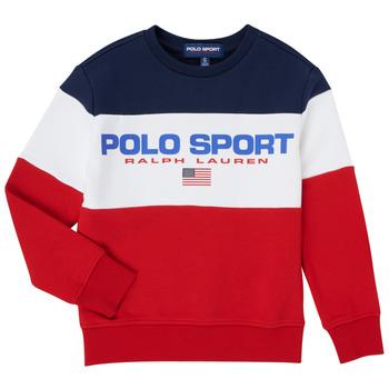 vaatteet Pojat Svetari Polo Ralph Lauren TRINITA Monivärinen