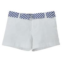 vaatteet Tytöt Shortsit / Bermuda-shortsit Polo Ralph Lauren FILLI Valkoinen