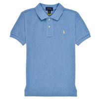 vaatteet Pojat Lyhythihainen poolopaita Polo Ralph Lauren BLEUNI Sininen