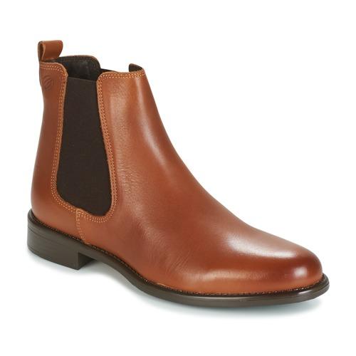 kengät Naiset Bootsit Betty London NORA Camel