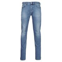 vaatteet Miehet Slim-farkut Diesel D-LUSTER Blue / Clair
