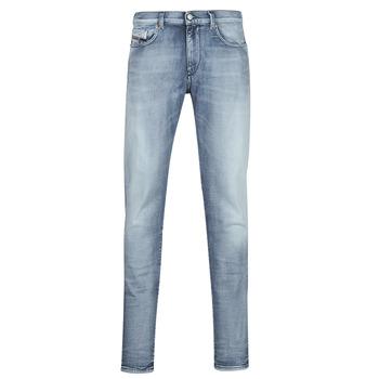 vaatteet Miehet Slim-farkut Diesel D-STRUKT Sininen / Clear