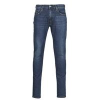 vaatteet Miehet Slim-farkut Diesel D-STRUKT Blue / Fonce