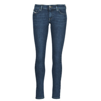 vaatteet Naiset Skinny-farkut Diesel SLANDY-LOW Sininen