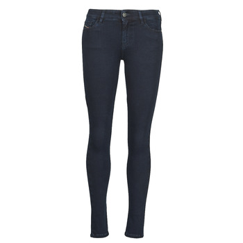 vaatteet Naiset Skinny-farkut Diesel SLANDY Sininen / Fonce
