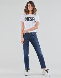 vaatteet Naiset Suorat farkut Diesel D-JOY Sininen